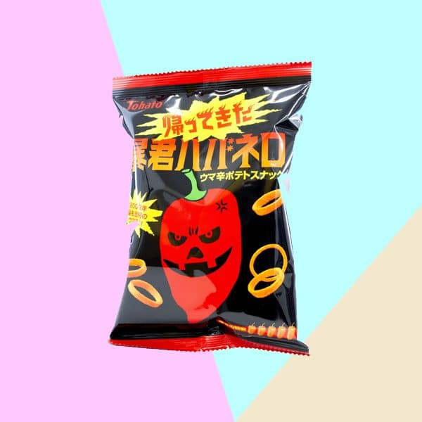 Tohato Tyrant Habanero Rings Japanese Chilli Snack Chips