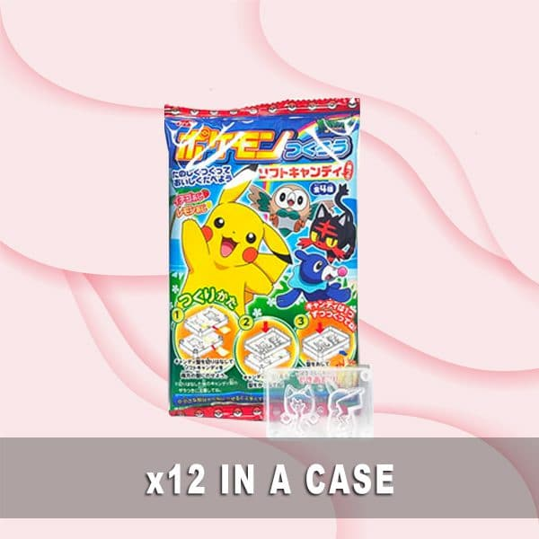 Top Seika Pokemon Soft Candy 12 in a case