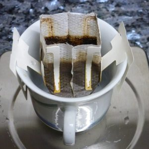 Cup of UCC Organic Saibai Coffee