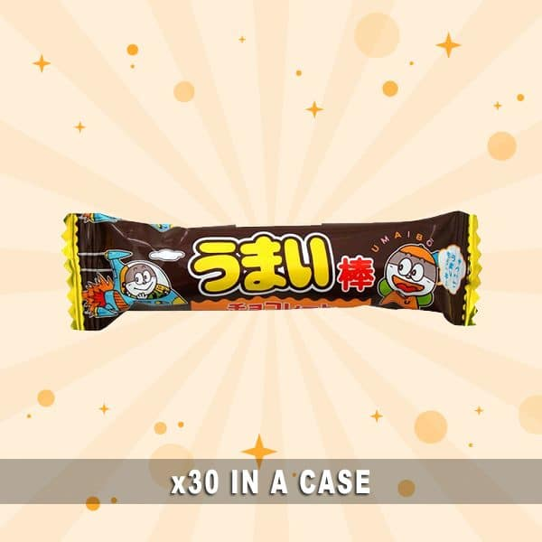Yaokin Umaibo Chocolate 30 in a case