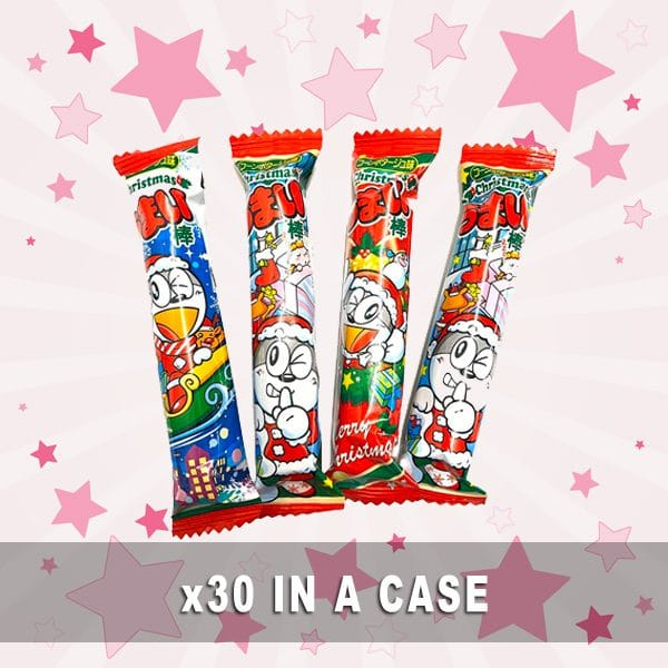 Yaokin Umaibo Christmas Corn Potage 30 in a case