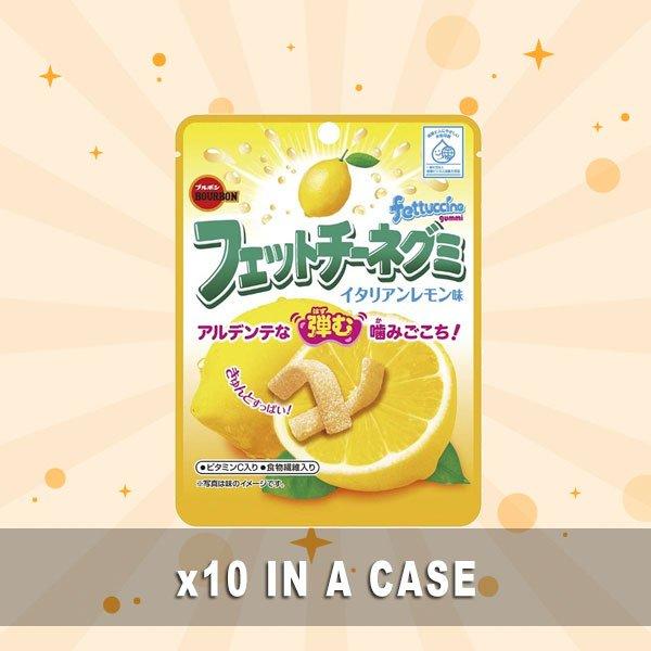 Bourbon Fettuccine Gummy Lemon 10 in a case