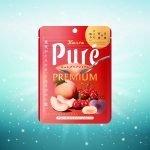 Kanro Pure Gummy Peach & Cherry