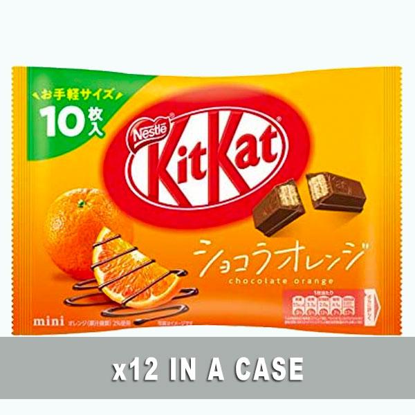 KitKat Chocolate Orange 12 in a case