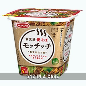 Acecook Yakisoba Mochichi 12 in a case