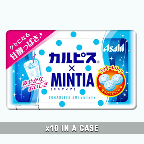 Asahi Mintia Calpis 10 in a case