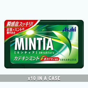 Asahi Mintia Catechin 10 in a case