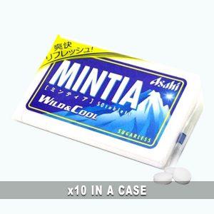 Asahi Mintia Wild Cool 10 in a case