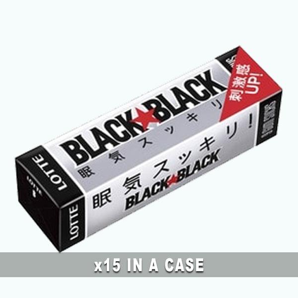 Black Black Chewing Gum 15 in a case