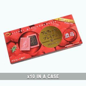 Bourbon Alfort Premium Strawberry 10 in a case