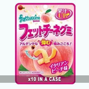 Bourbon Fettuccine Gummy Peach 10 in a case