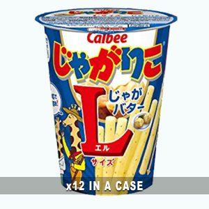 Calbee Jagariko Butter 12 in a case