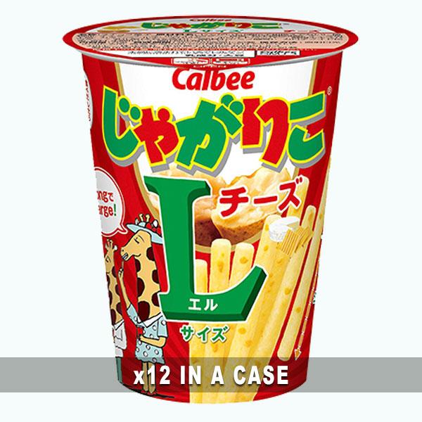 Calbee Jagariko Cheese 12 in a case