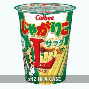 Calbee Jagariko Salad 12 in a case