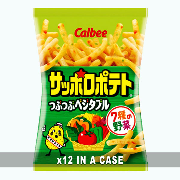 Calbee Sapporo Vegetable Snack 12 in a case