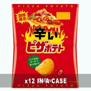 Calbee Spicy Pizza Potato 12 in a case
