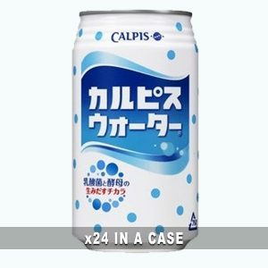 Calpis Water 24 in a case