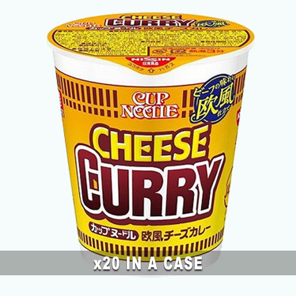 Cup Noodle Cheese Curry 20 in a case