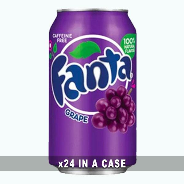 Fanta Grape 24 in a case