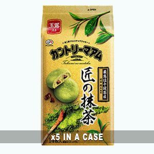 Fujiya Country Maam Matcha 5 in a case