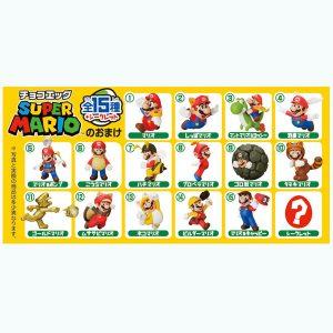 Furuta Chocolate Egg Super Mario characters
