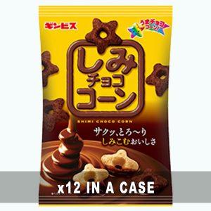 Ginbis Shimi Chocolate Corn 12 in a case