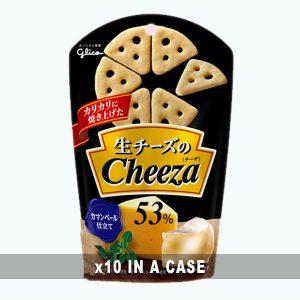 Glico Camembert Cheeza 10 in a case