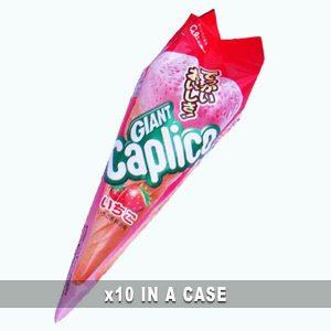 Glico Caplico Strawberry 10 in a case