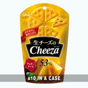 Glico Cheddar Cheeza Cracker 10 in a case