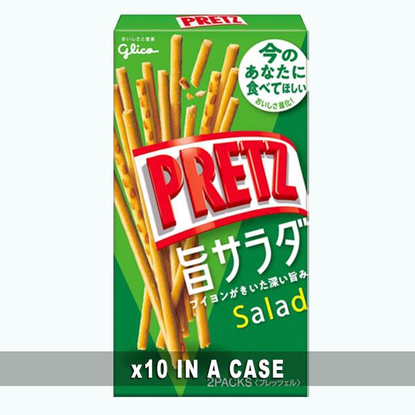 Glico Pretz Salad 10 in a case