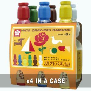 Hata Cray-Pas Ramune 4 in a case