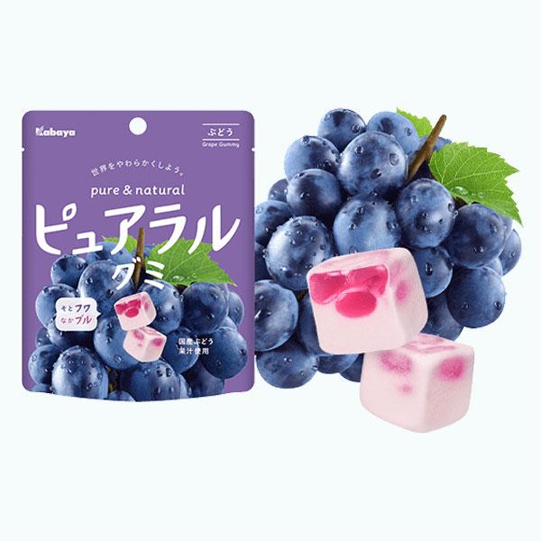 Kabaya Pureral Grape Gummy