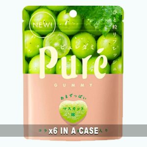Kanro Pure Gummy Muscat 6 in a case