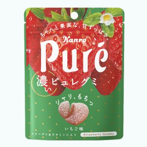 Kanro Pure Gummy Strawberry