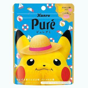 Kanro Pure Gummy Tropical Fruit & Soda
