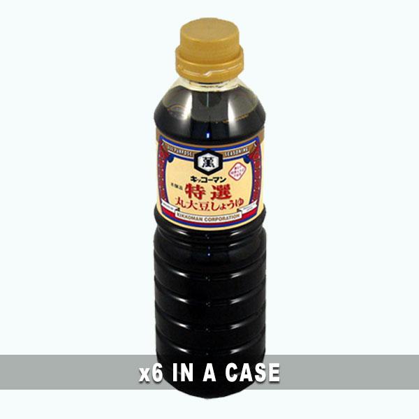 Kikkoman Tokusen Soy Sauce 6 in a case