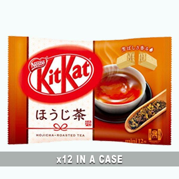 KitKat Hojicha Green Tea 12 in a case