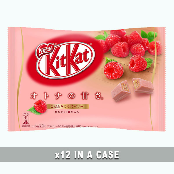 KitKat Raspberry 12 in a case
