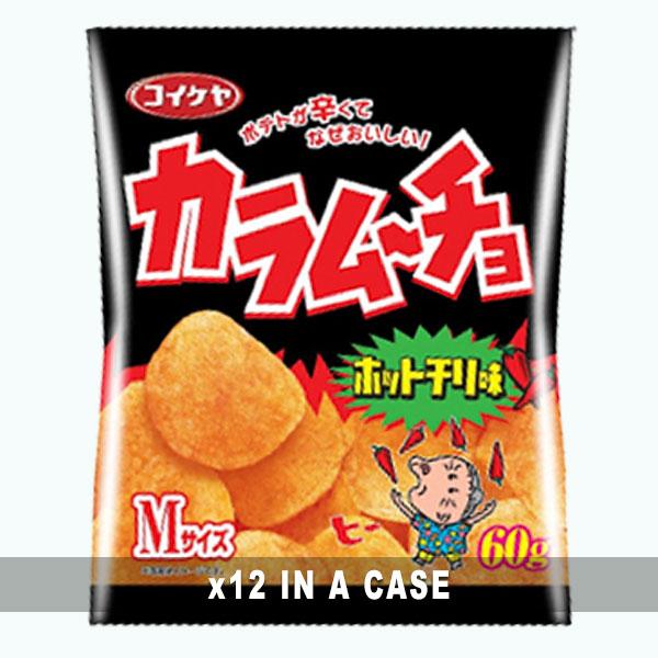 Koikeya Karamucho Chips 12 in a case