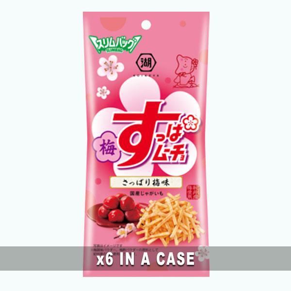 Koikeya Suppa Mucho Sour Plum 6 in a case