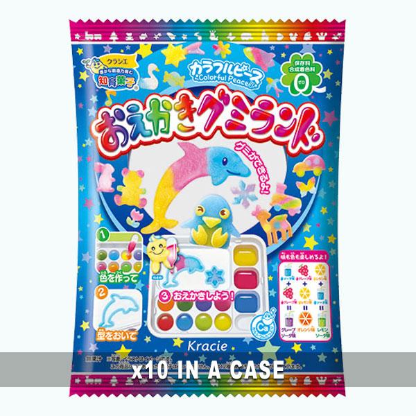 Kracie Gummy Land Kit 10 in a case