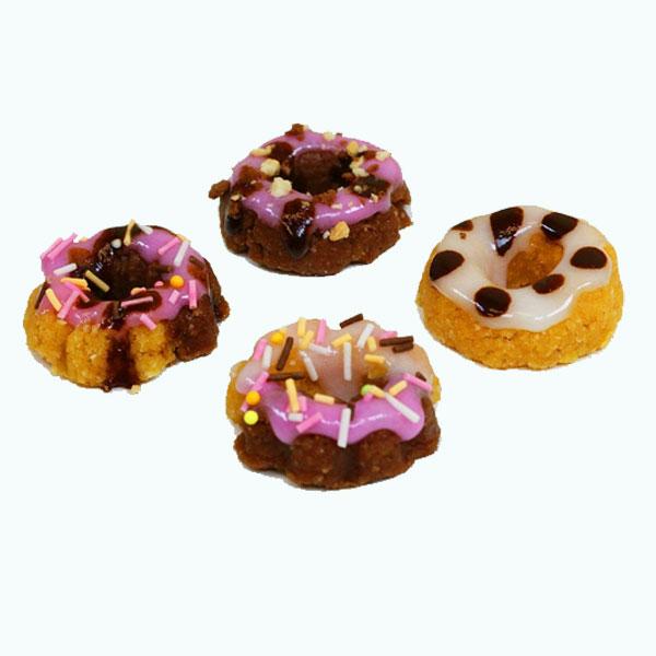 Kracie Happy Kitchen Donuts made ready