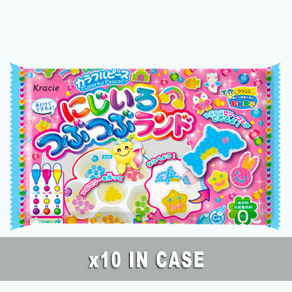 Kracie Rainbow Land Candy Kit 10 in a case
