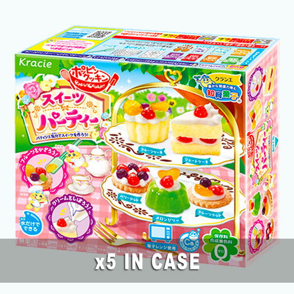 Kracie Sweets Party Kit 5 in a case