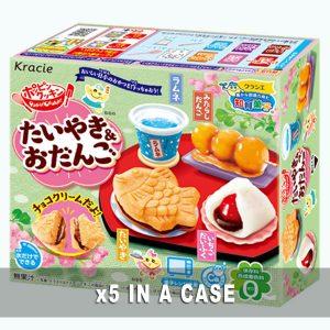 Kracie Taiyaki and Odango 5 in a case