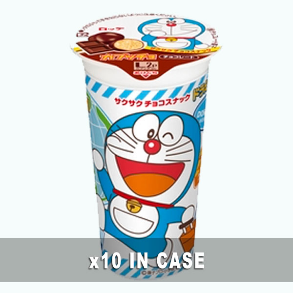 Lotte Capucho Doraemon Chocolate 10 in a case
