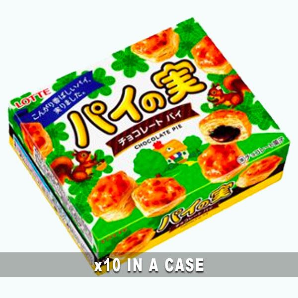 Lotte Chocolate Pie 10 in a case