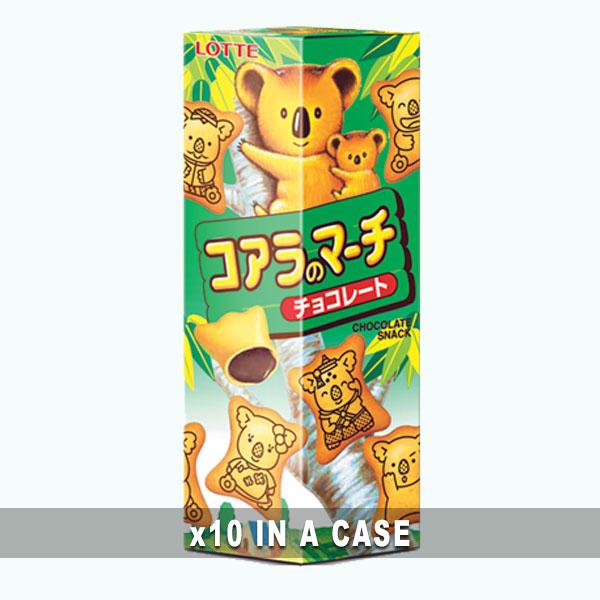 Koala March Chocolate 10 in a case