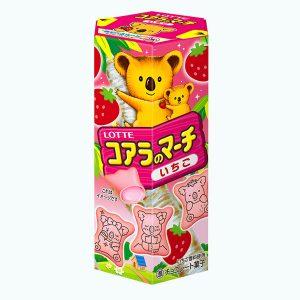 Lotte Koala March Strawberry