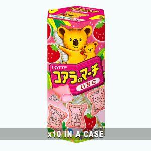 Lotte Koala March Strawberry 10 in a case